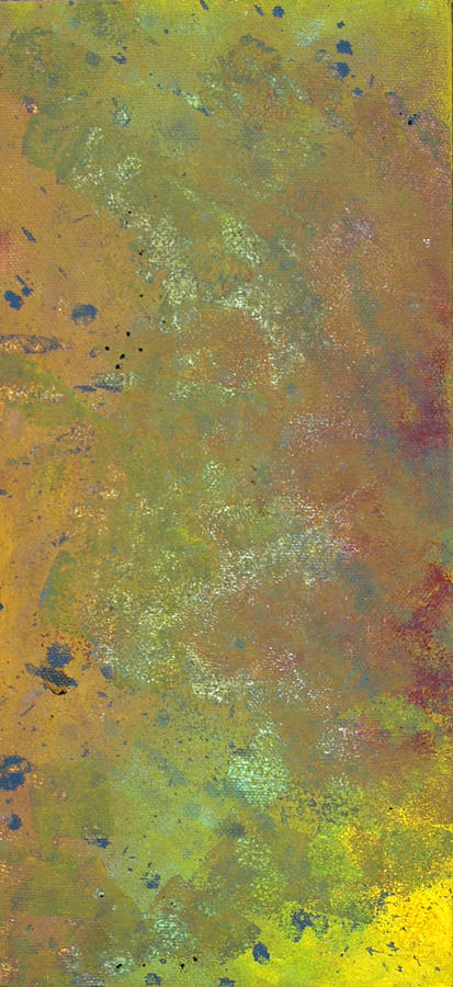 Orange Painting - Abstract 4 by Corina Bishop