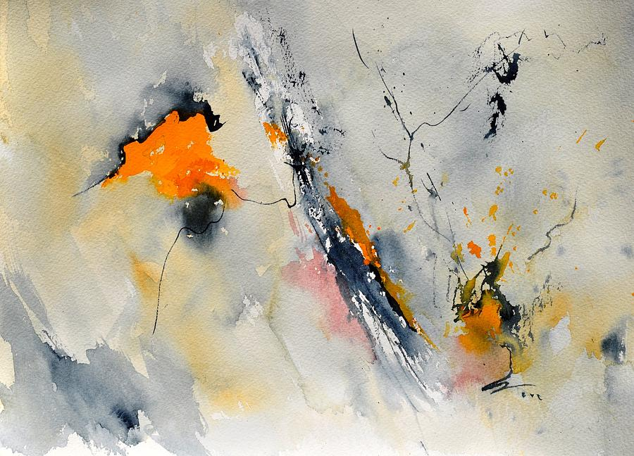Abstract Painting - Abstract 416032 by Pol Ledent