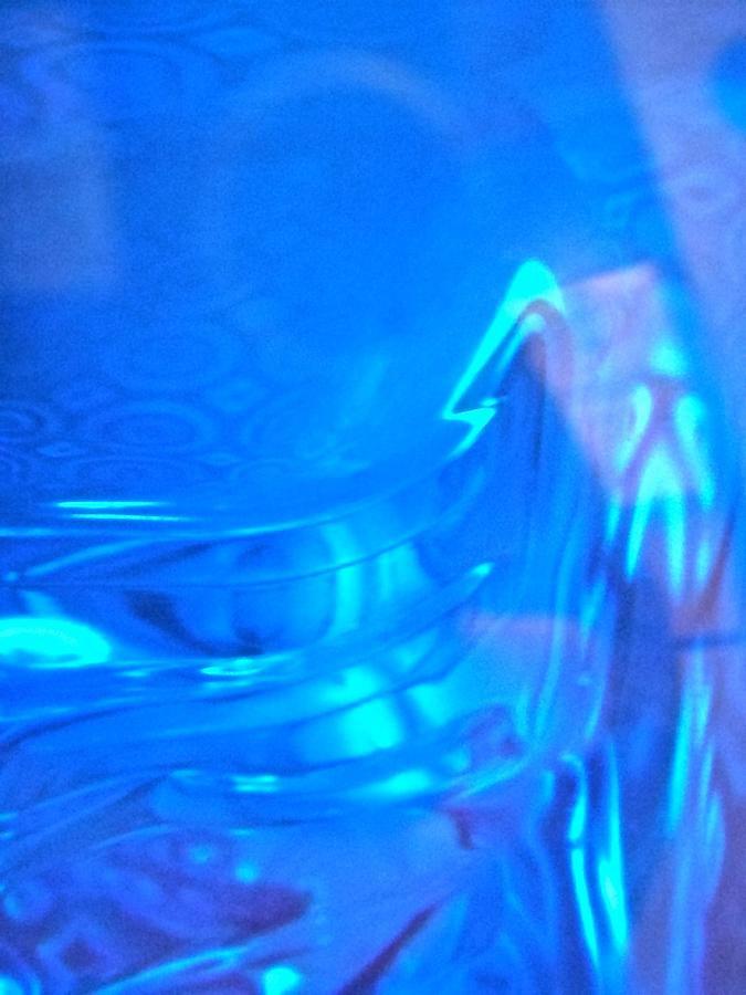 Blue Photograph - Abstract 4410 by Stephanie Moore