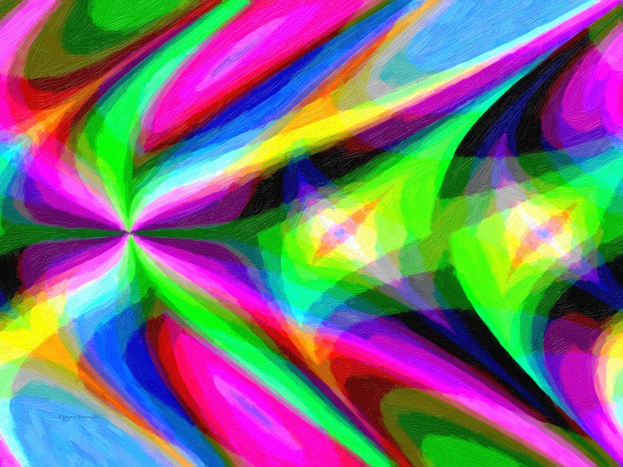 Kenny Francis Photograph - Abstract 45 by Kenny Francis