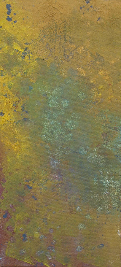 Yellow Painting - Abstract 5 by Corina Bishop