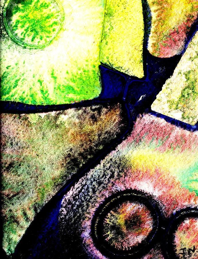 Abstract Landscape Mixed Media - Abstract  57 by John  Nolan