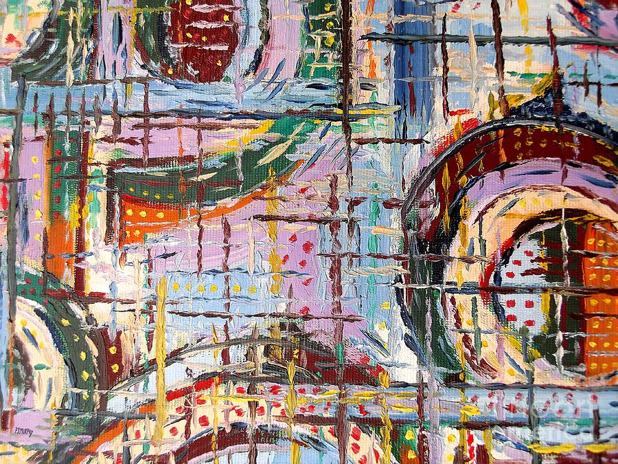 Abstract Painting - Abstract 9 by Patrick J Murphy