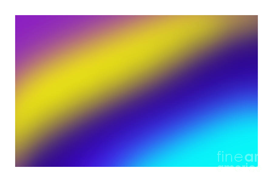 Abstract Digital Art - Abstract And Polychromatic Composition  by Enrique Cardenas-elorduy