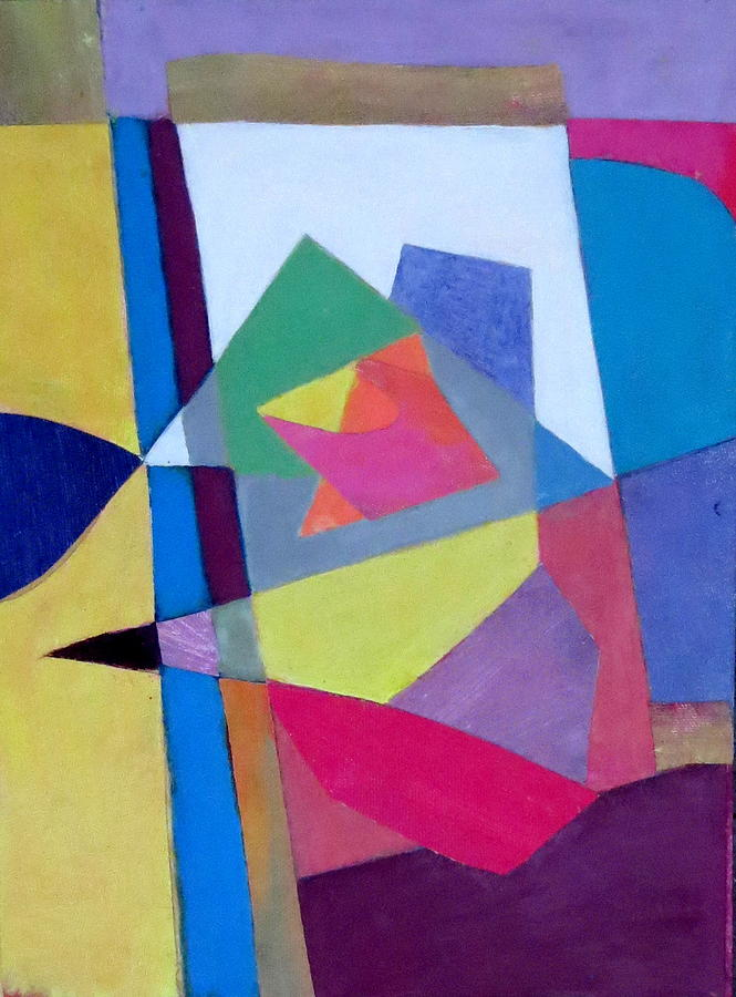 Abstract Expressionism Mixed Media - Abstract Angles II by Diane Fine