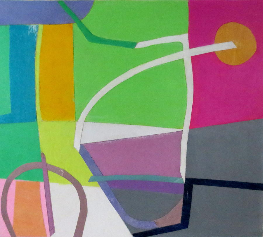 Abstract Expressionism Mixed Media - Abstract Angles X by Diane Fine