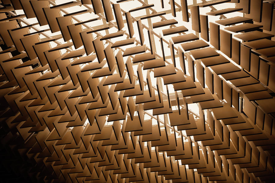 Abstract Architectural Pattern Photograph by Lena serditova