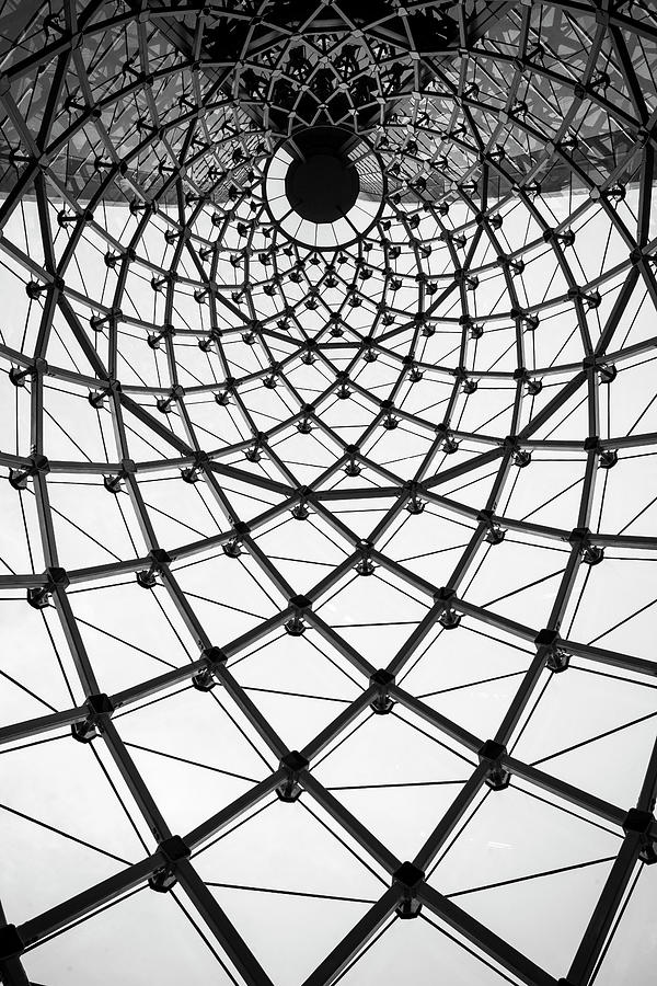 Abstract Architecture Curved Steel Beam Photograph by Tapanuth