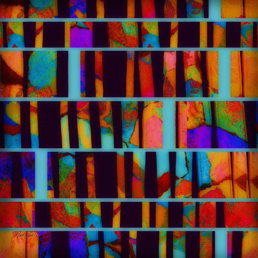 Abstract Digital Art - abstract - art- Color Pop  by Ann Powell