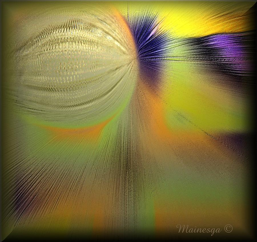 Digital Paint Digital Art - Abstract-b-e-g by Ines Garay-Colomba