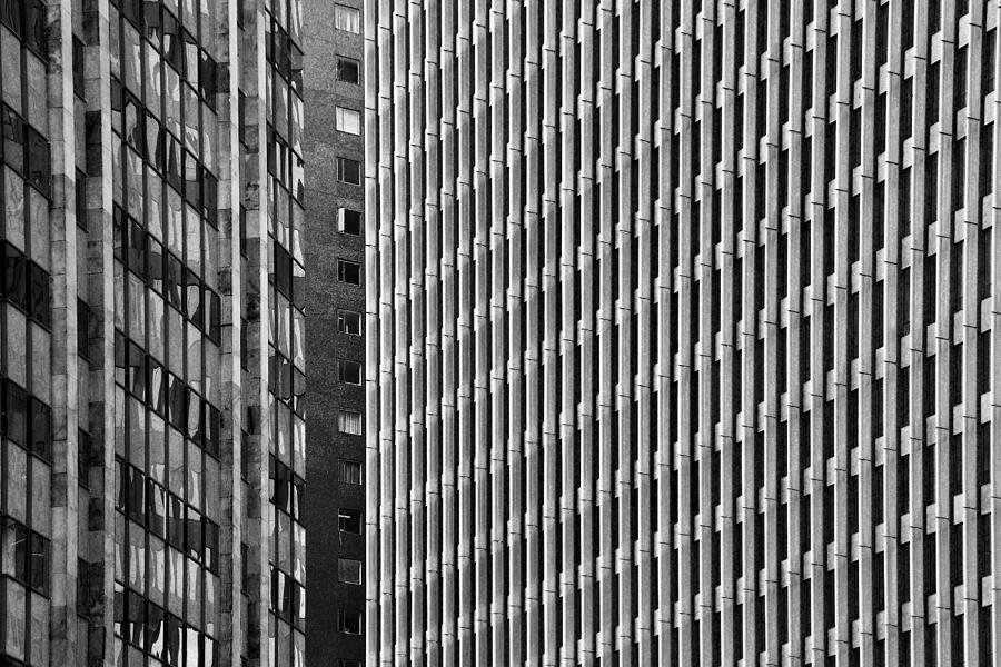 Abstract Buildings Photograph
