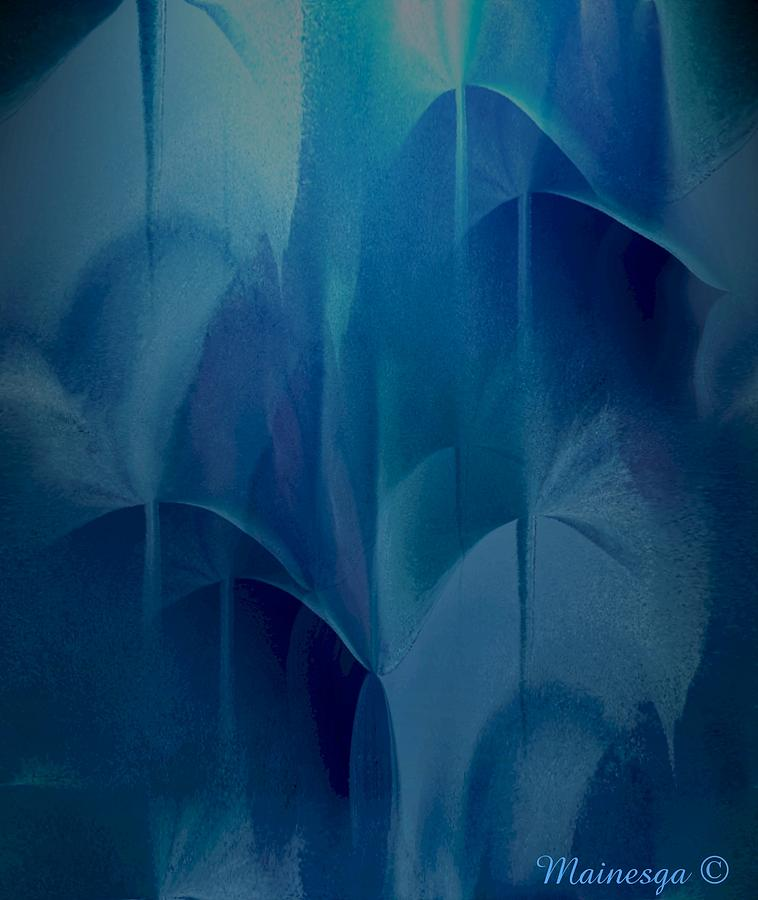 Abstract Digital Art - Abstract C-u-r by Ines Garay-Colomba