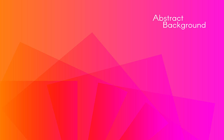 Abstract Color Background Minimal Design Geometric Shapes On Bright Backdrop Vector Illustration For Banner Poster Web By Egor Suvorov