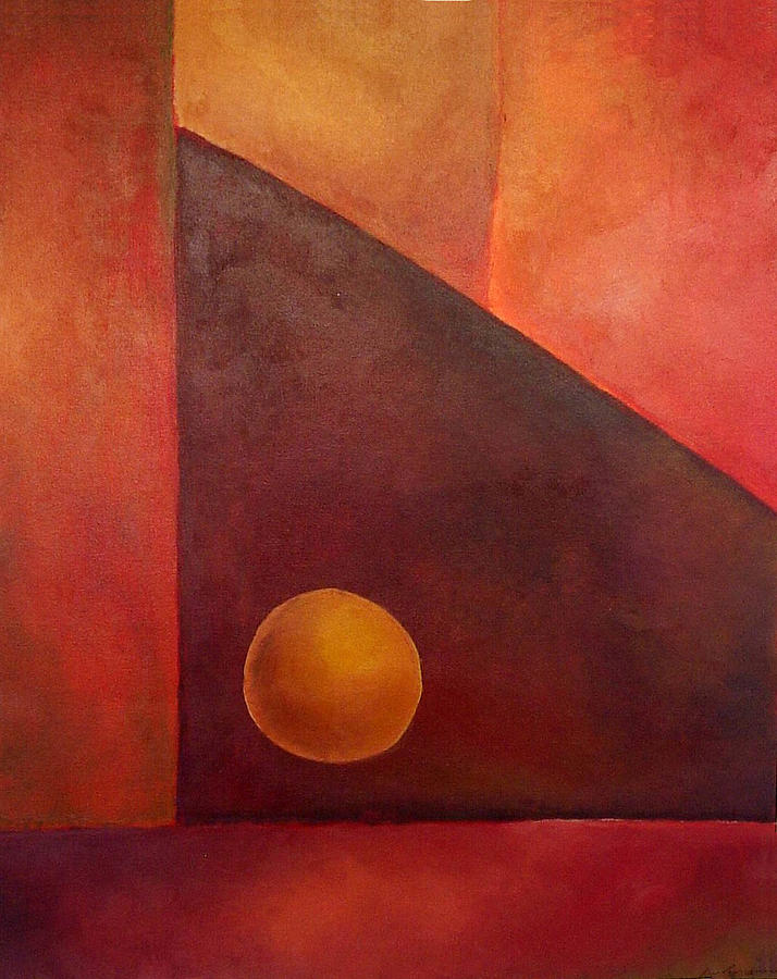 Abstract Design Painting - Abstract Composition by Kim Cyprian