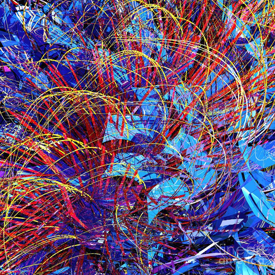 Abstract Curvy 36 Digital Art