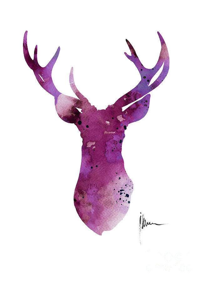 deer skull iphone wallpaper