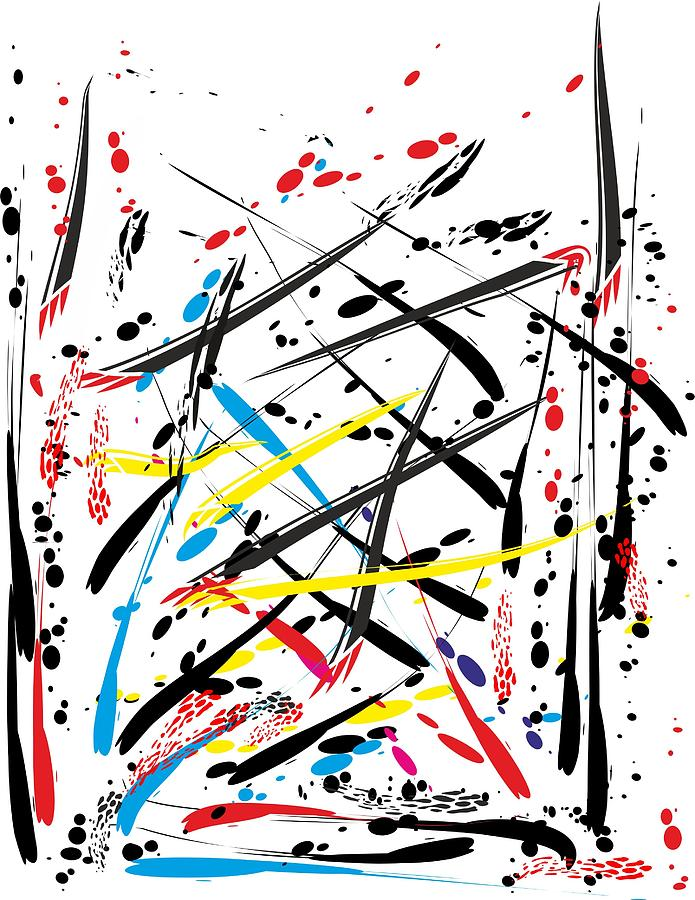 Abstract Digital 11 Painting by Sandra Conceicao