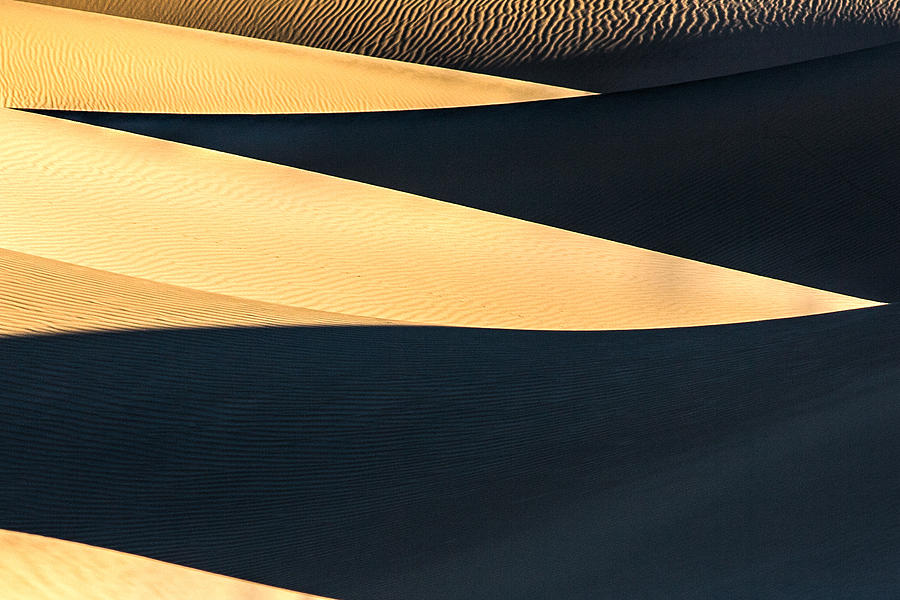 Abstract Dunes Photograph