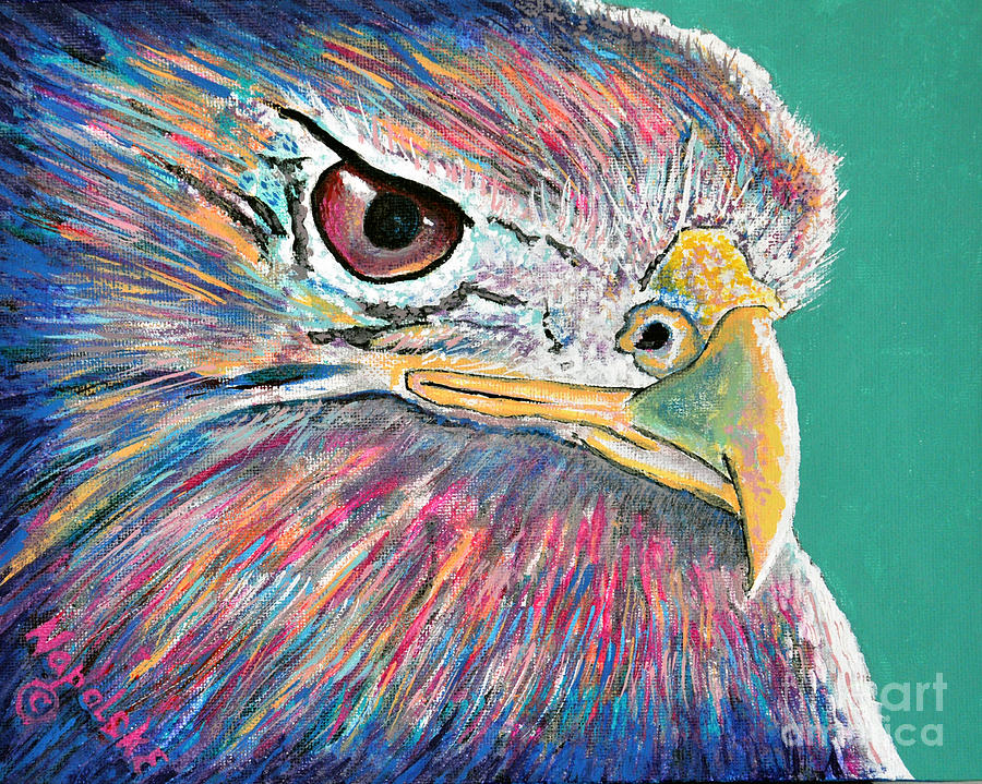Abstract Eagle by Barney Napolske