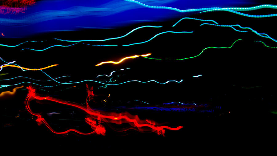 Abstract Photograph - Abstract Evening Lights 2 by Chase Taylor