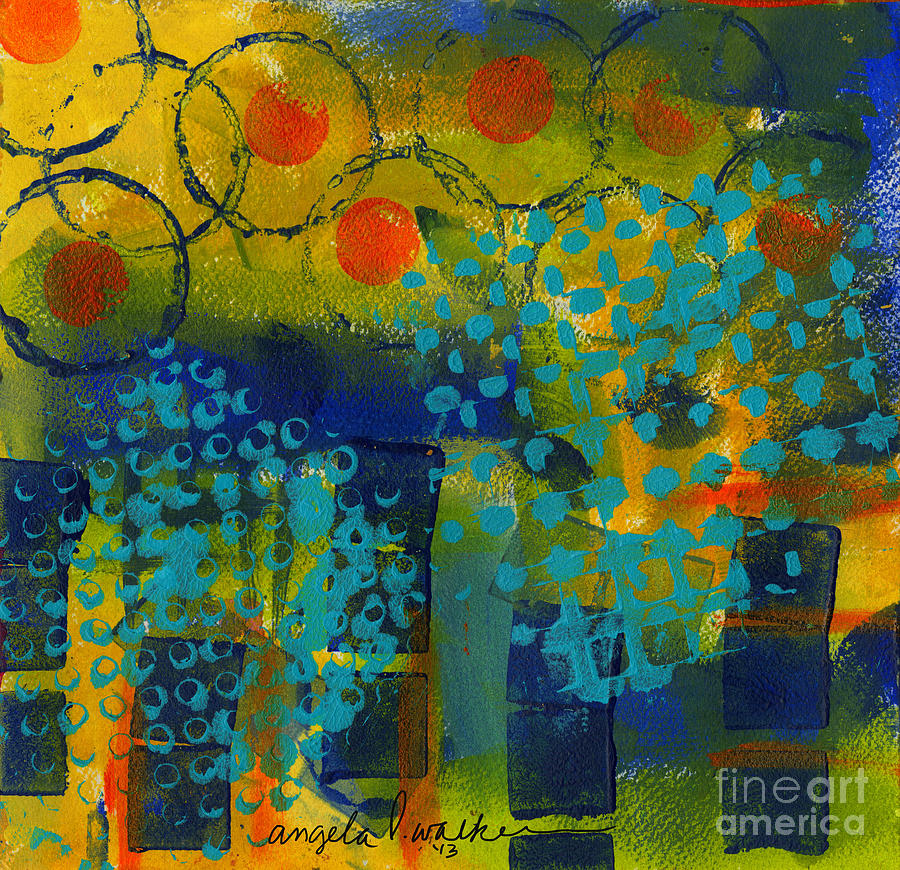 Abstract Expressions - Background Art Painting