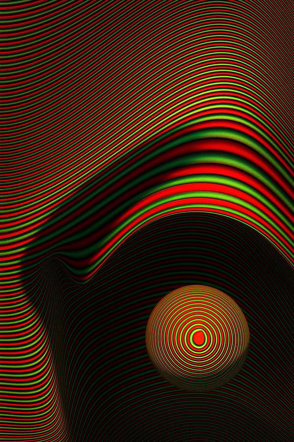 Eye Digital Art - Abstract Eye by Johan Swanepoel