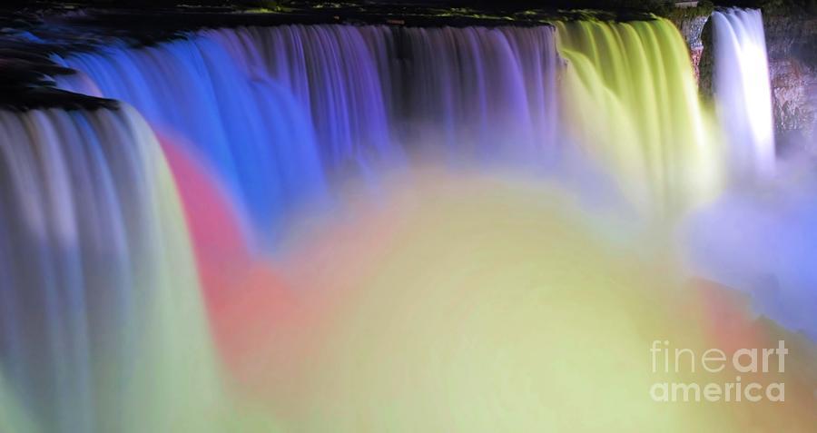 Niagara Photograph - Abstract Falls by Kathleen Struckle