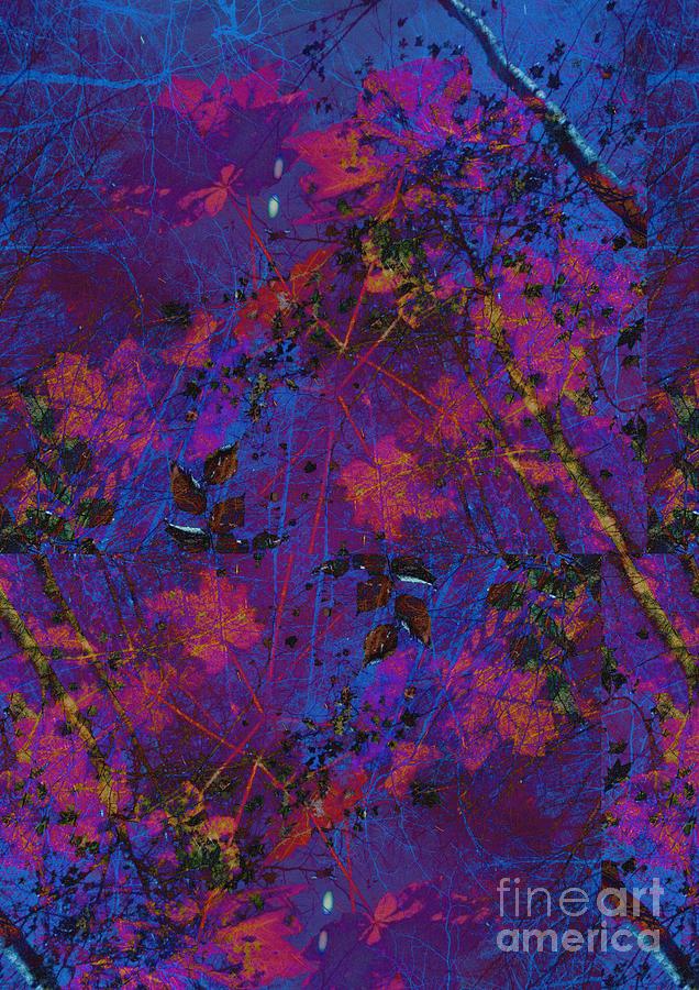 Abstract Foliage Digital Art
