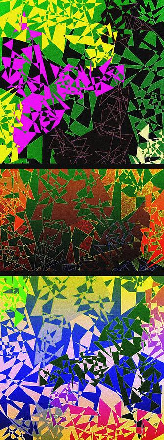 Abstract Fusion Digital Art - Abstract Fusion 193 by Will Borden