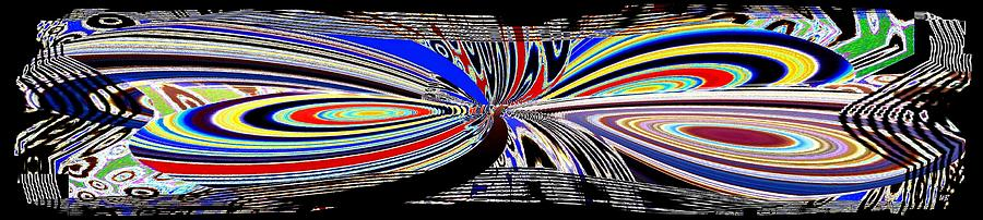 Abstract Fusion Digital Art - Abstract Fusion 197 by Will Borden