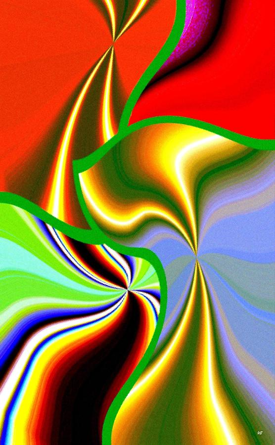 Expressionism Digital Art - Abstract Fusion 200 by Will Borden