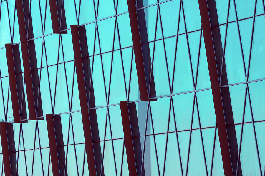 Abstract Glass Surface With Geometric Photograph by Aapsky