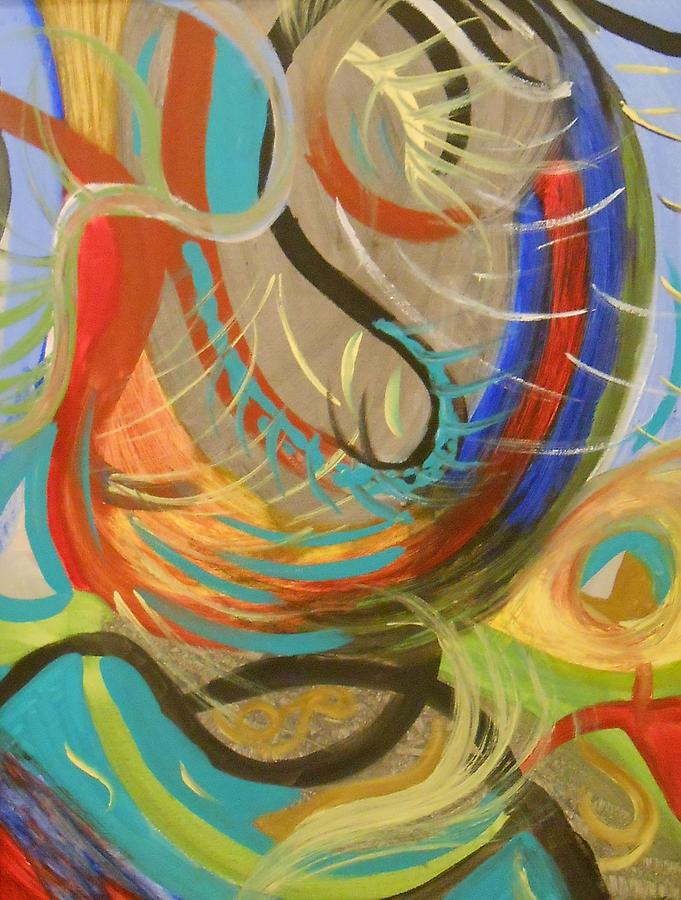 Abstract Painting - Abstract I by Julie Crisan