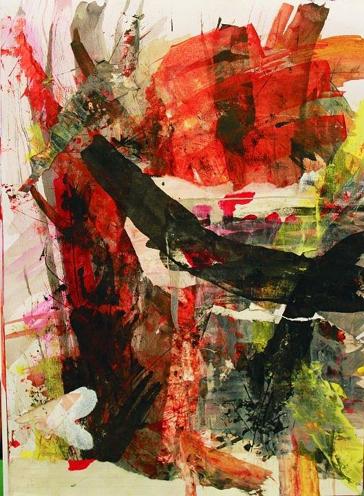 Abstract Painting - Abstract Landscape by Ross Keegan