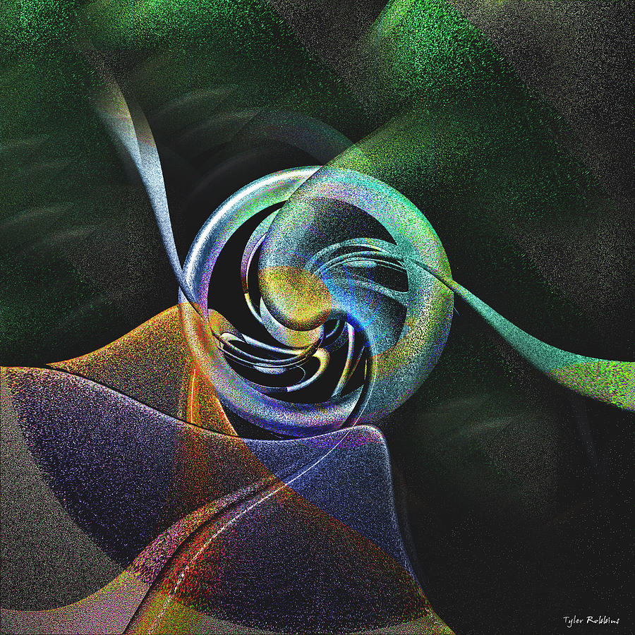 Abstract Digital Art - Abstract Llv by Tyler Robbins
