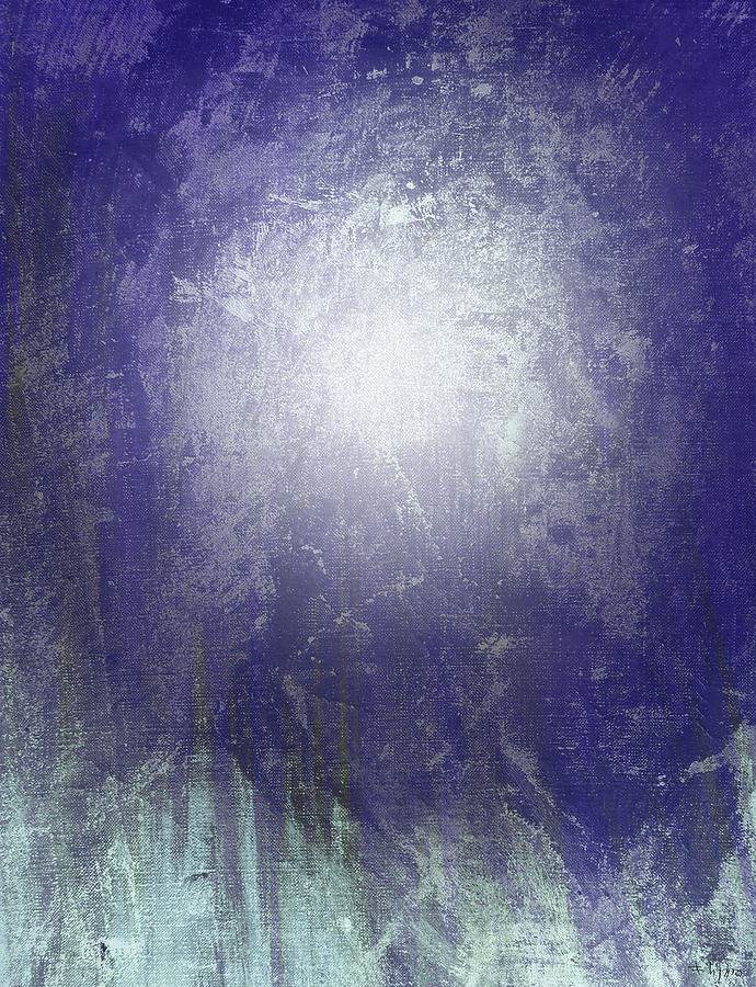 Abstract Painting - Abstract  Moonlight by Filippo B