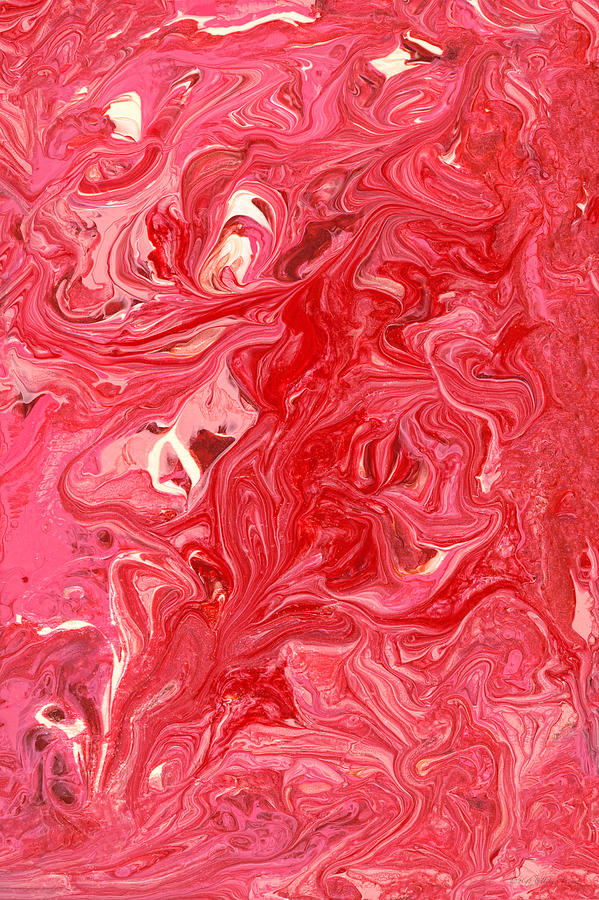 Abstract Photograph - Abstract - Nail Polish - My Ice Cream Melted by Mike Savad