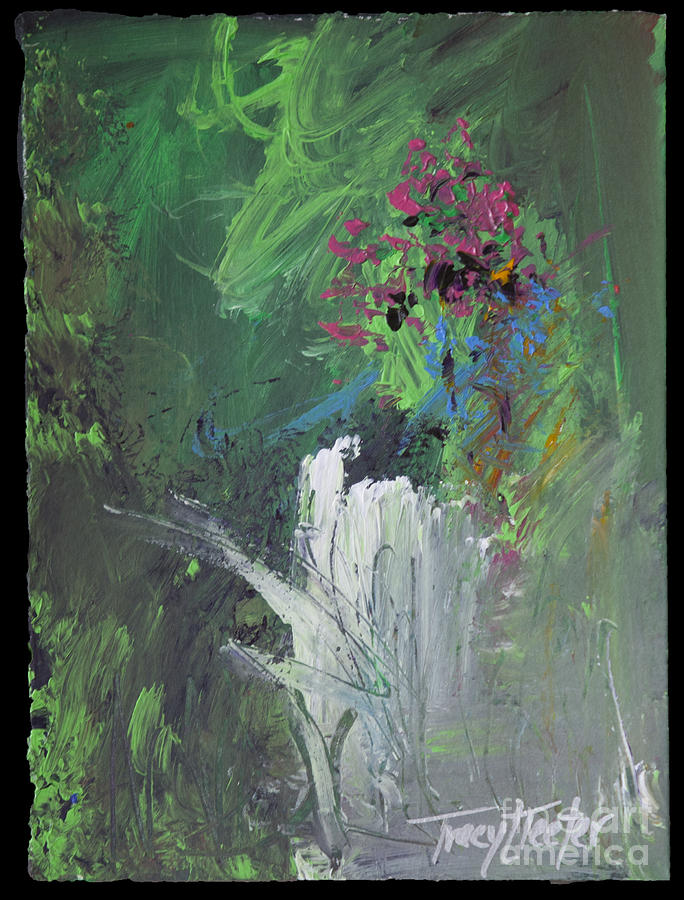 abstract nature painting by tracy l teeter