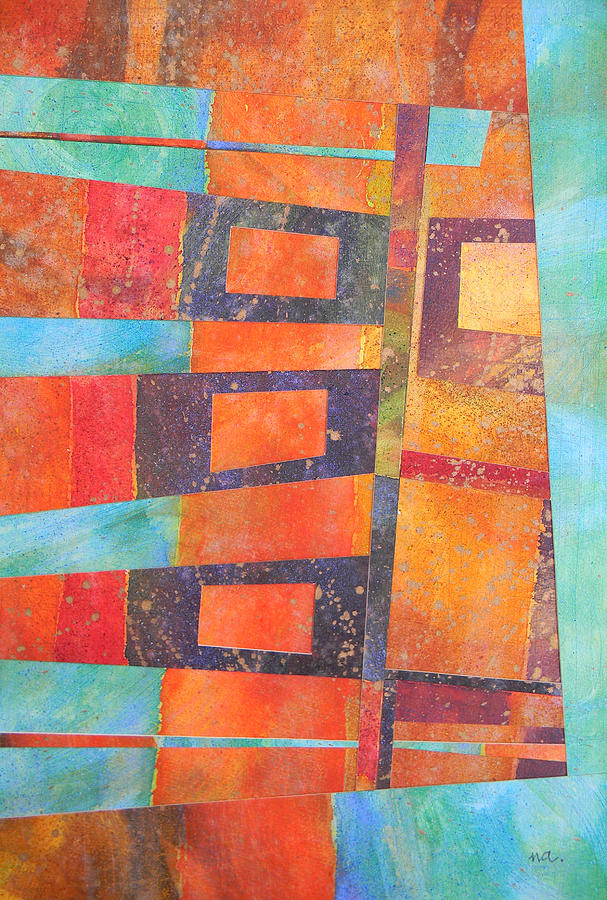 Abstract Painting - Abstract No.1 by Adel Nemeth