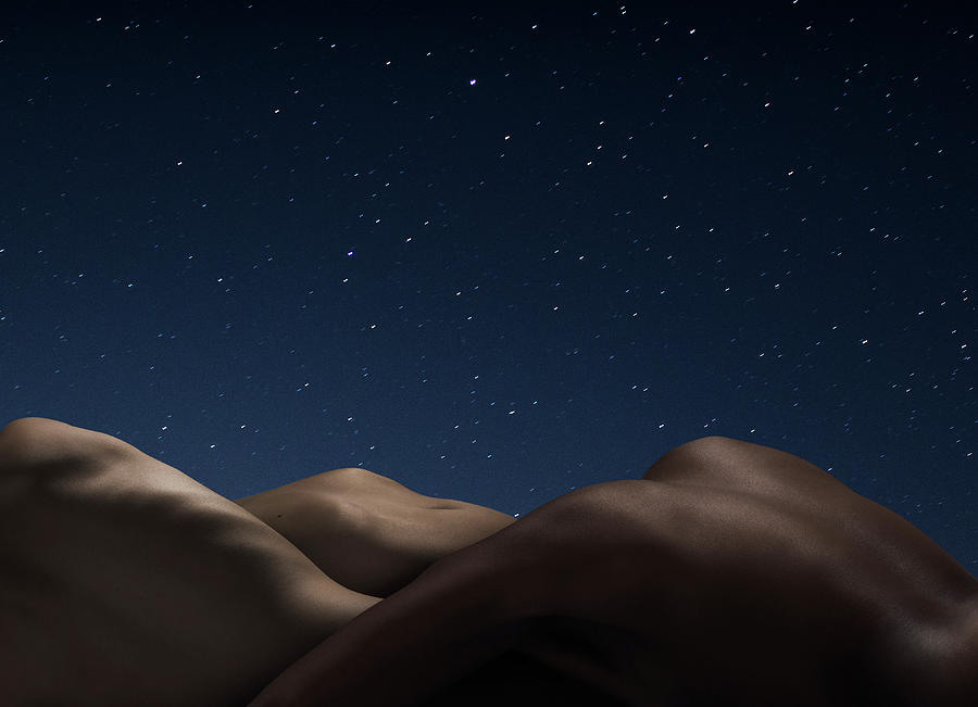 Abstract Nude Bodies, Different Skin Photograph by Jonathan Knowles