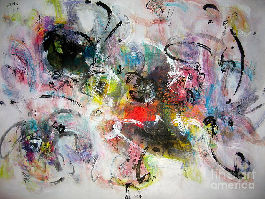 Abstract Painting Colourful Art