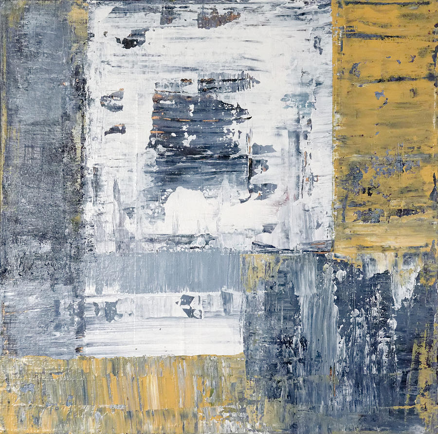 Blue Painting - Abstract Painting No. 3 by Julie Niemela