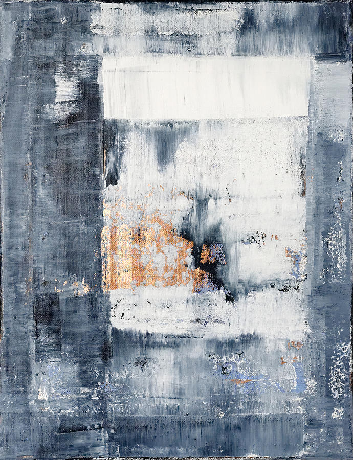 Blue Painting - Abstract Painting No.5 by Julie Niemela