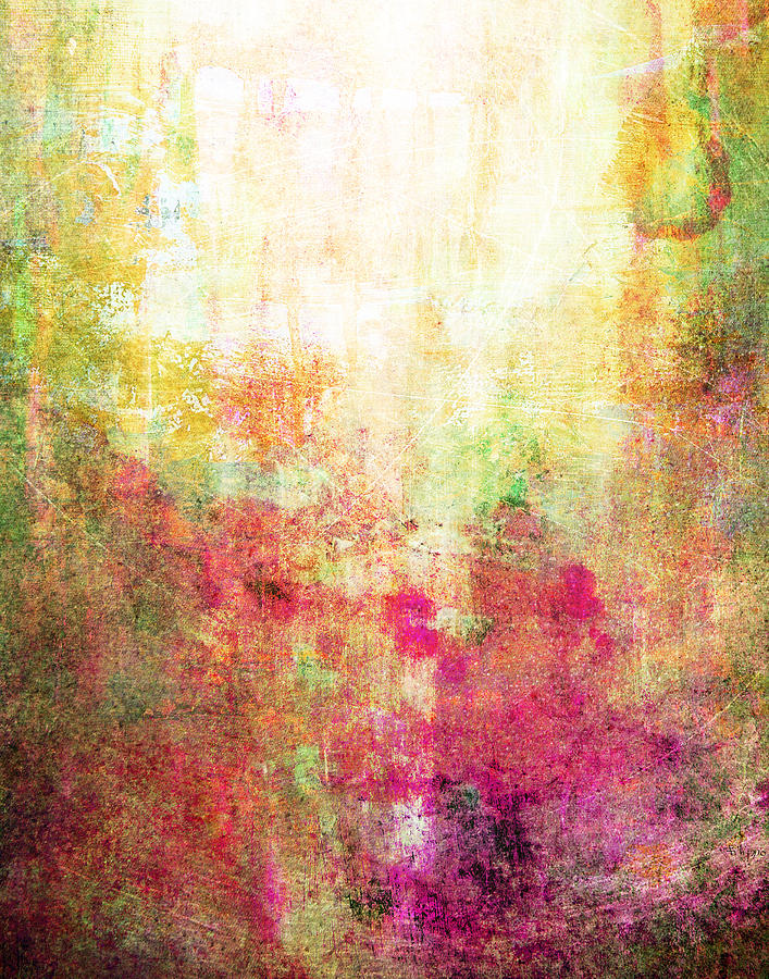 Abstract Painting - Abstract Print 14 by Filippo B