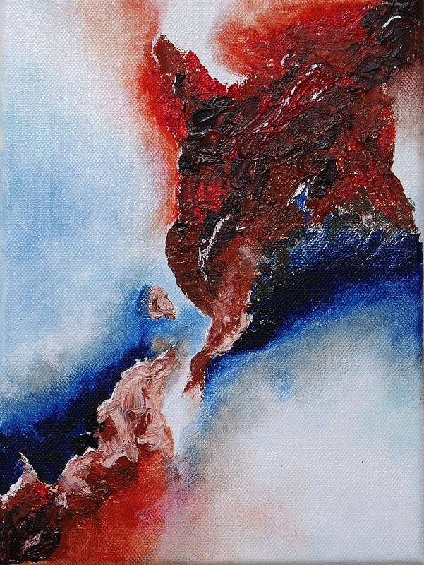 Abstract Painting - Abstract Rendezvous by Draia Coralia