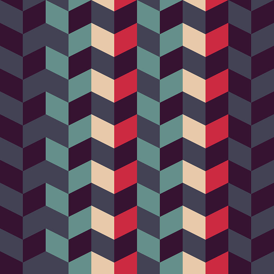 Geometric Pattern Delectable Abstract Retro Geometric Pattern Digital Artatthamee Ni Inspiration