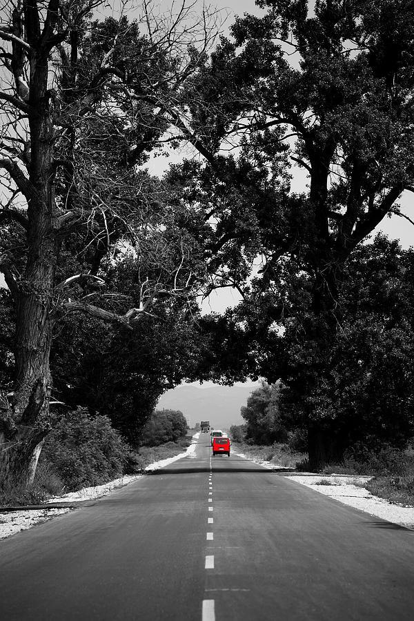 Car Photograph - Abstract Road  by Svetoslav Sokolov