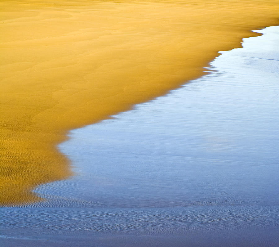 Abstract Seascape Photograph by Frank Tschakert