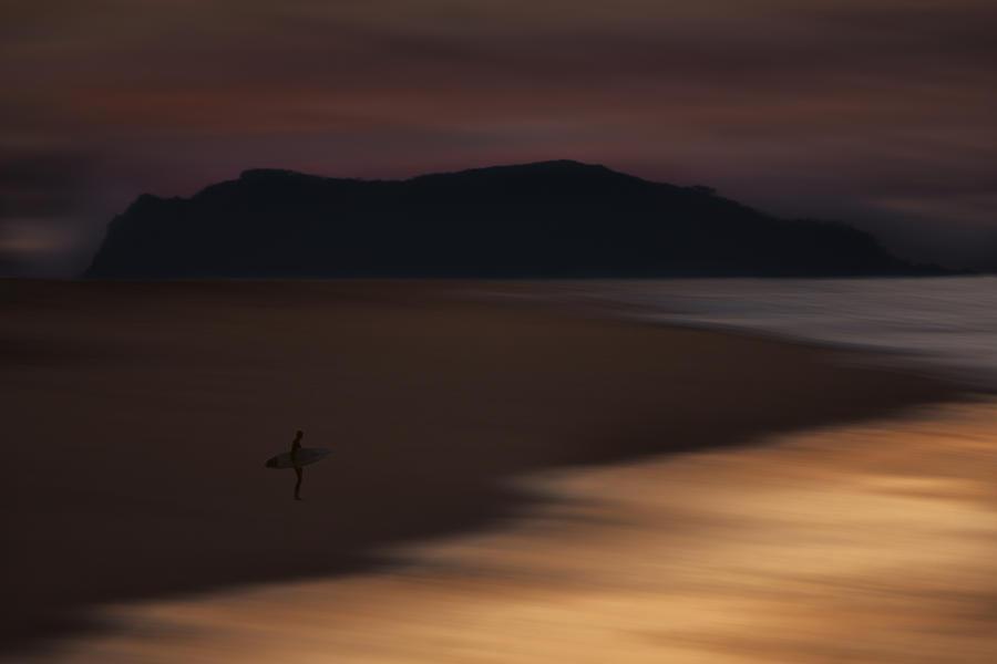 Orias Photograph - Abstract Shoreline 73A0160 by David Orias