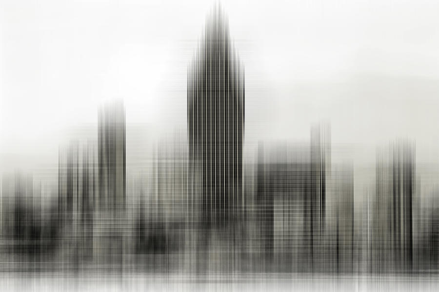 Abstract Photograph - Abstract Skyline by Pedro Fernandez